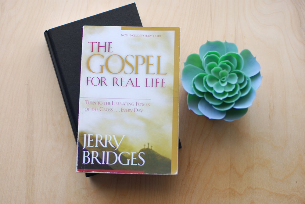 the gospel for real life : jerry bridges