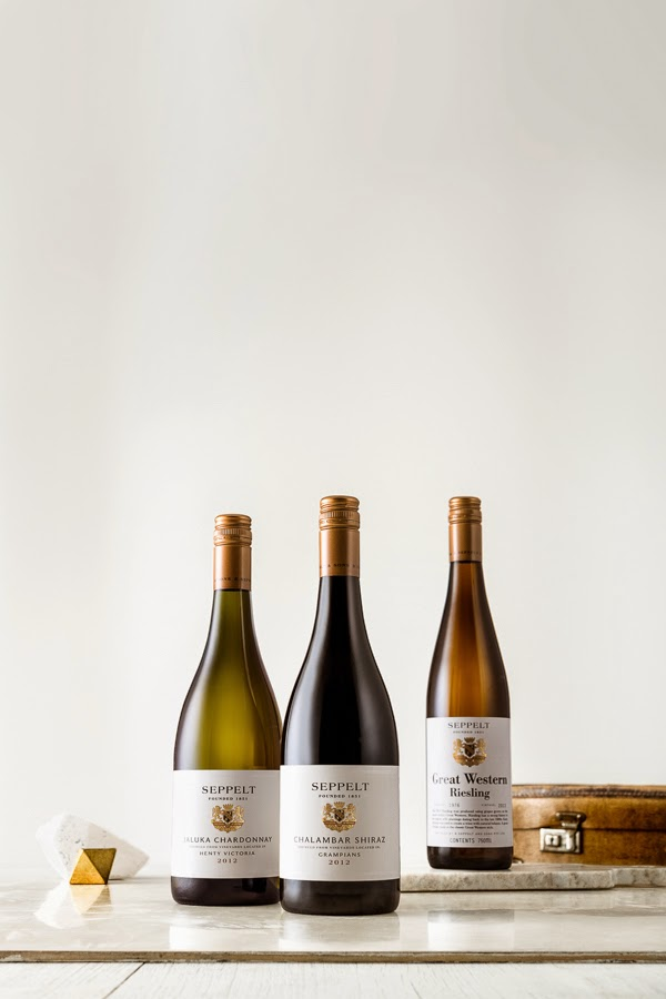 Seppelt wine for Sage Creative - Photography by Sarah Anderson
