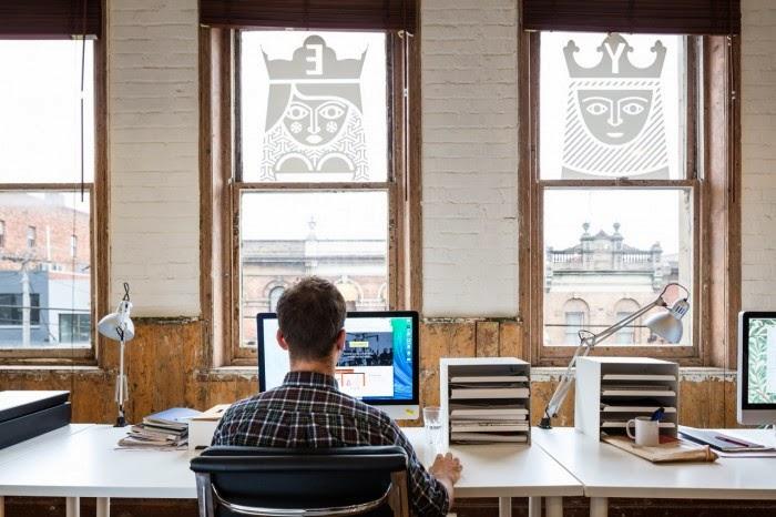 Liquorice Studio interior desk photograph
