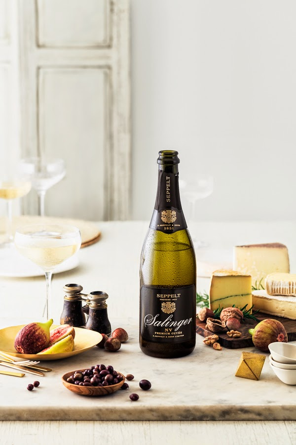 Seppelt wine with cheese for Sage Creative - Photography by Sarah Anderson