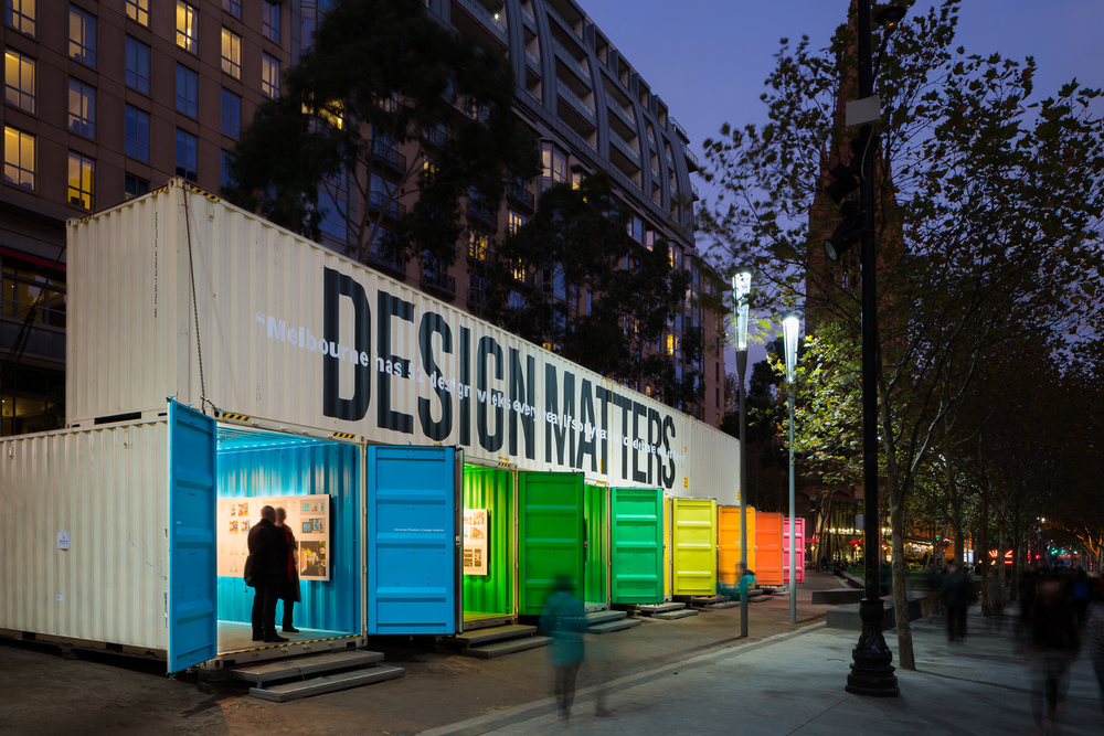 MIDW15_city_square_exhibition_with_shippling_containers_at_night_photography_by_sarah_anderson