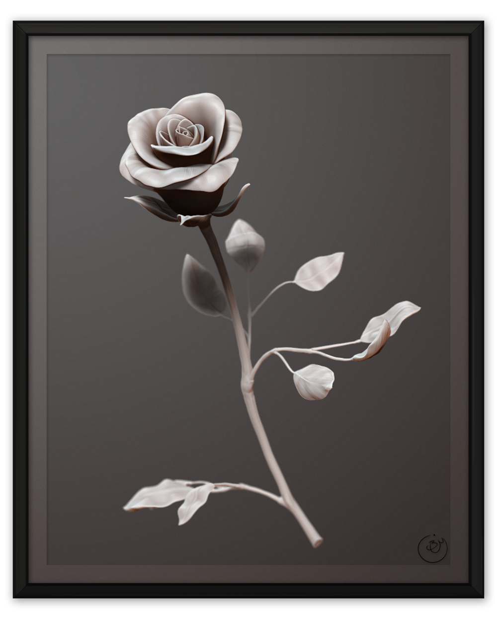 Mother's Day Rose (Render)