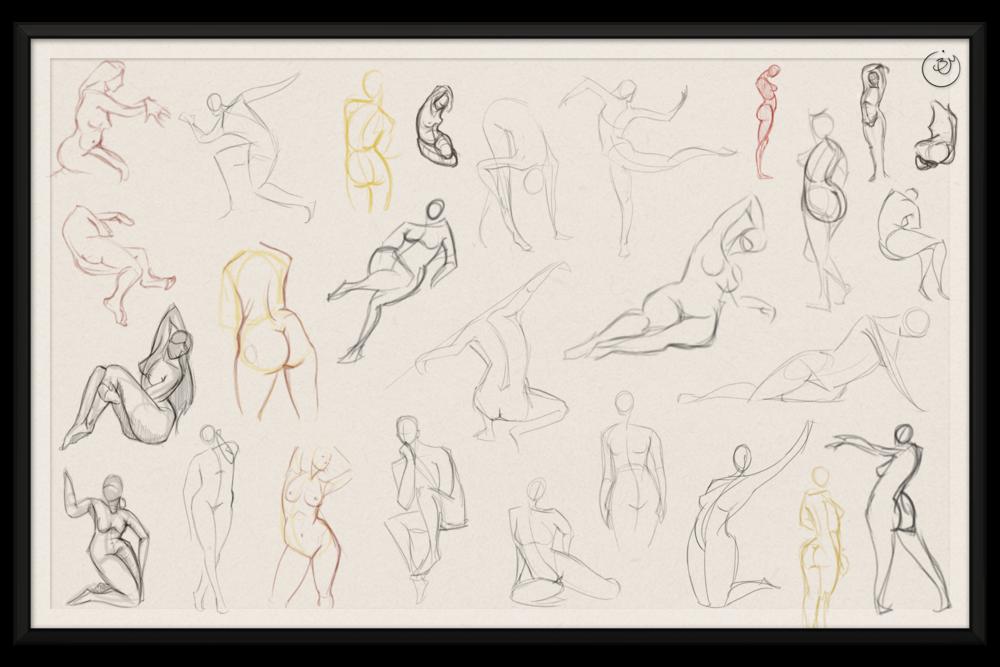 Human Gestures #2 (Digital)