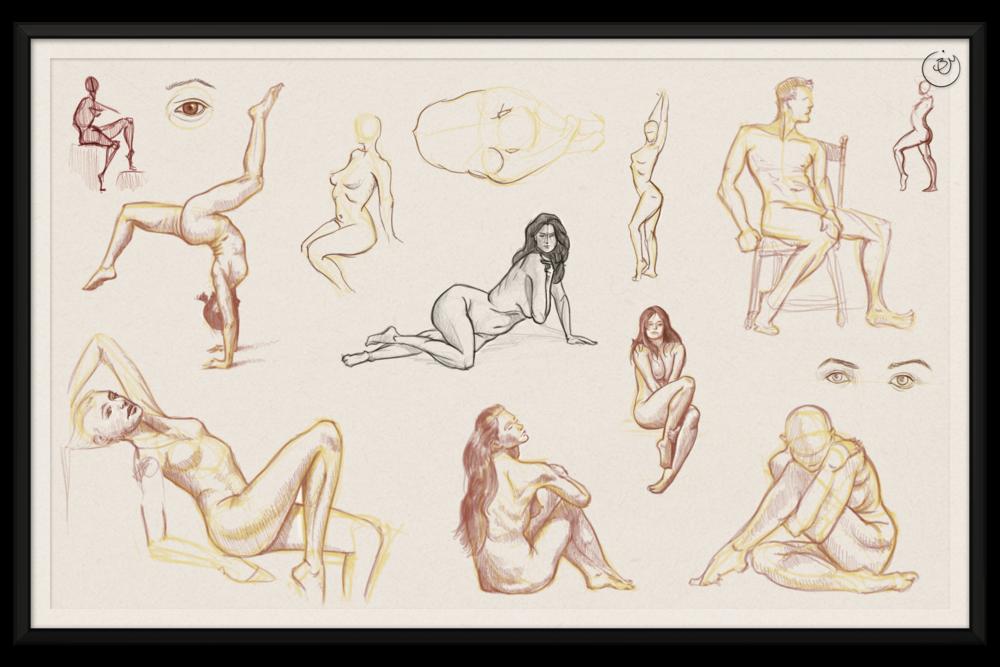 Human Gestures #1 (Digital)