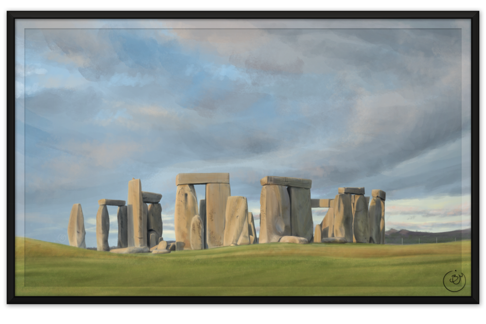 Stonehenge (Digital, from reference)