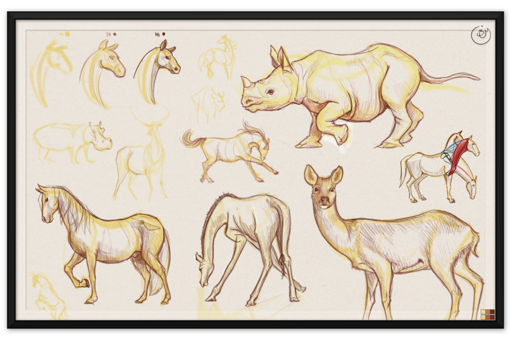 Animal Gestures #1 (Digital)