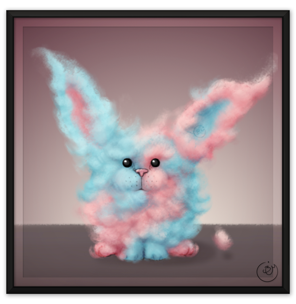 Cotton Candy Rabbit (Digital)