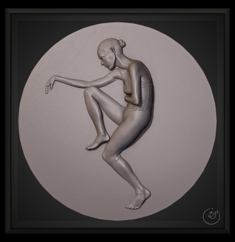 """Study of Pose"" #802"