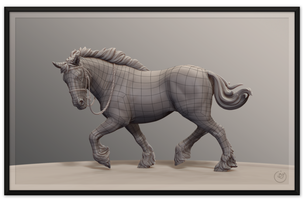 Horse Sculpture Topology