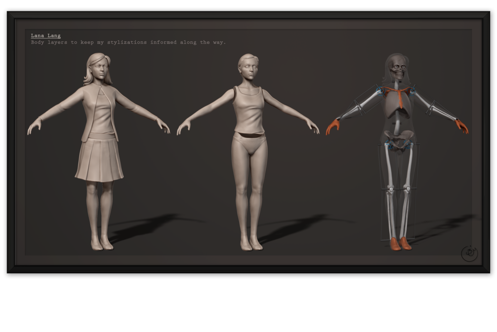 SM:Origins - Lana Anatomy #3