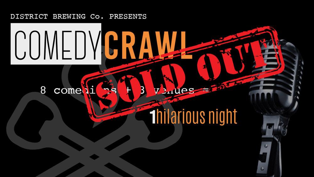 The Comedy Crawl Sept. 23 /'17 - Saskatoon, SK #YXE
