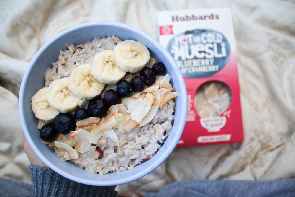 Hubbards Hot or Cold Muesli: Porridge Bowl | Ari Eats