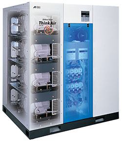 Anest Iwata Oil-less scroll Air Compressors