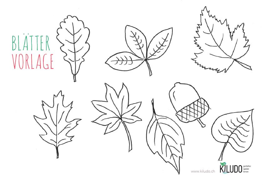 Herbstblätter Vorlage Zum Ausschneiden Hindu Tube