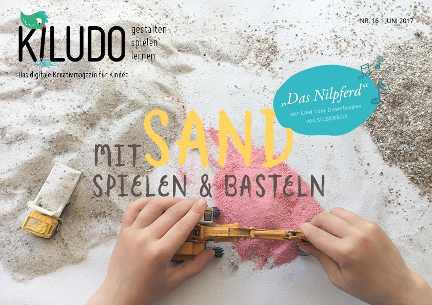 Sand basteln und spielen