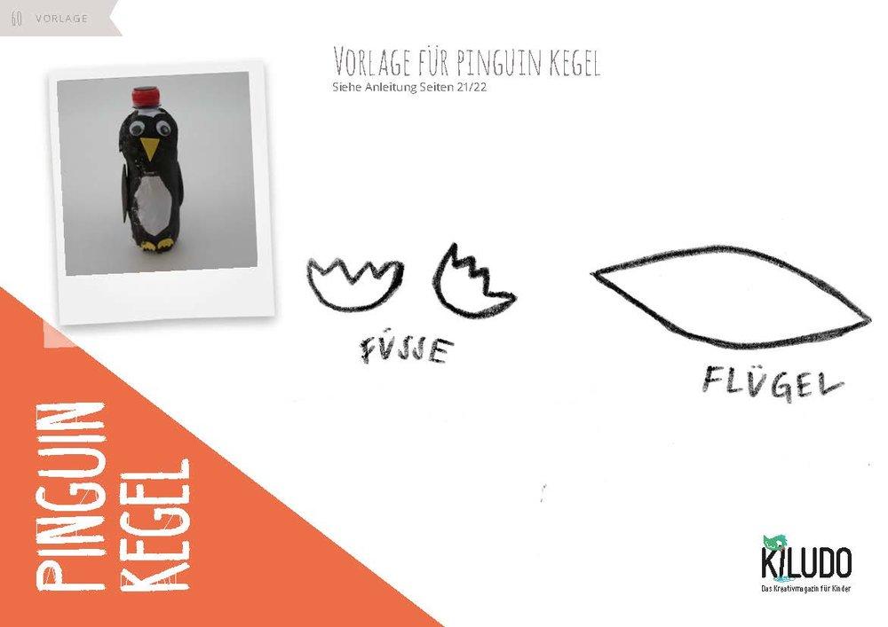 Vorlage Pinguin