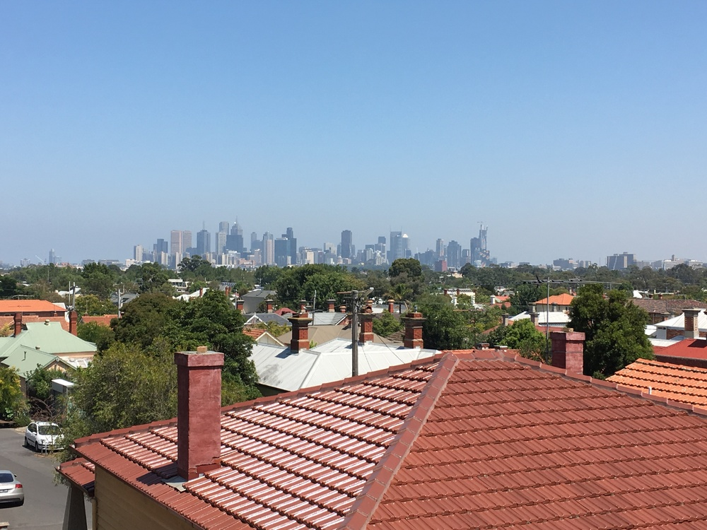 The view of the city from Northcote was stun-tac-ular!