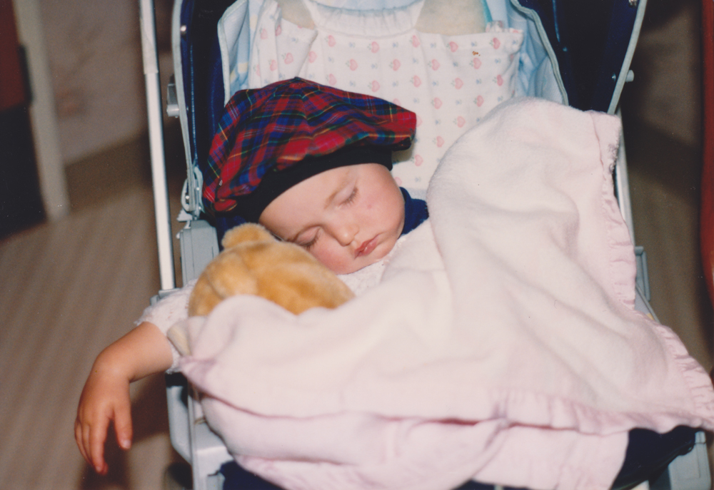 My addiction to safety blankets started young.
