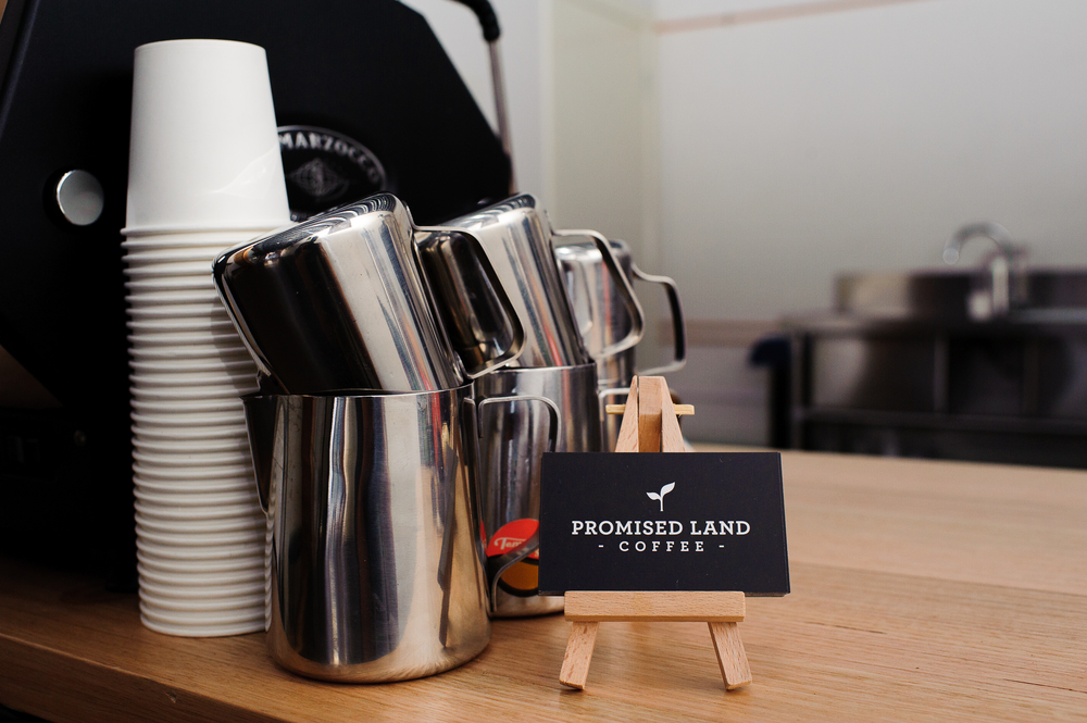 Promised Land Coffee, Collingwood.