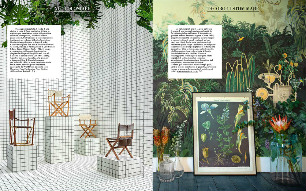 JUNGLE LABORATORY | ELLE DECOR ITALIA | FEB 2016