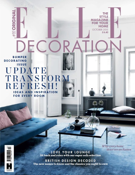 ELLE DECORATION BRITISH DESIGN AWARD WINNER 2015