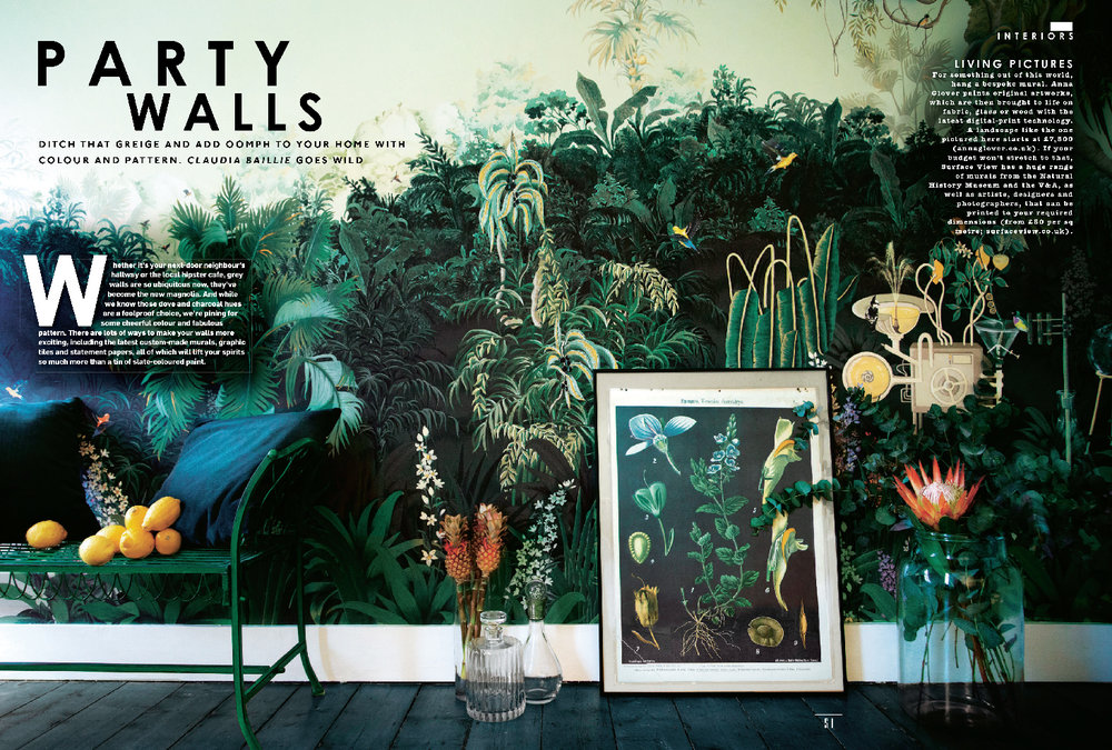 JUNGLE LABORATORY | SUNDAY TIMES  STYLE MAGAZINE | AUGUST 2015