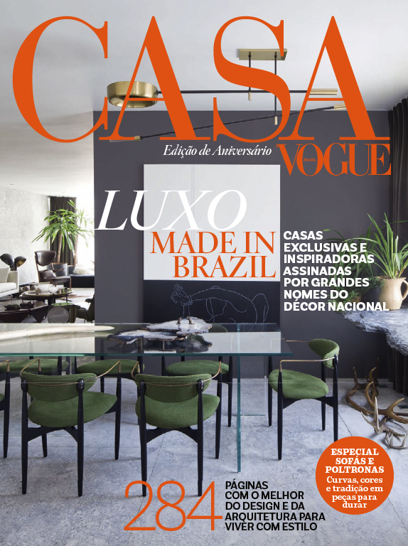 JUNGLE GEOMETRIC ROOM SCREEN  | CASA VOGUE BRAZIL | NOV 2014