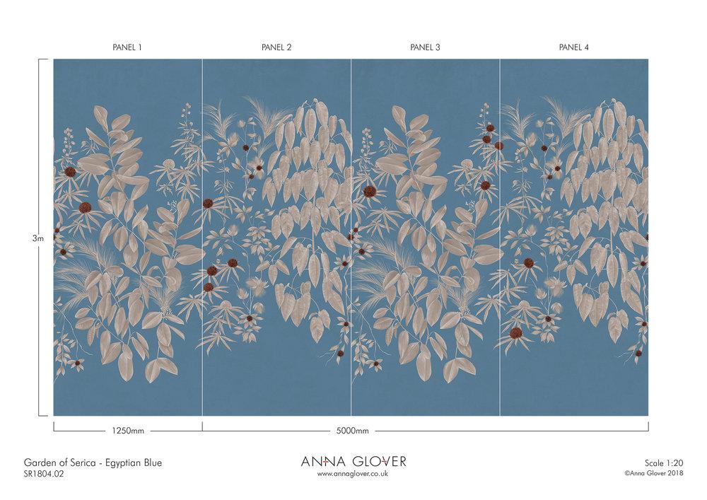 Garden of Serica Egyptian Blue SR1804.02