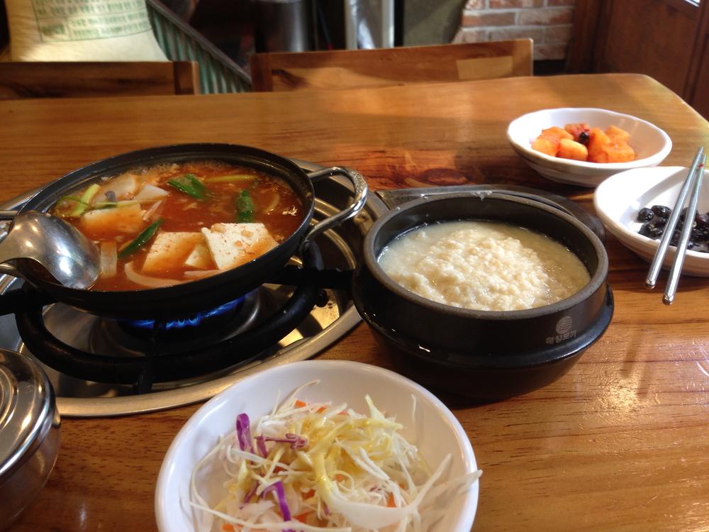 vařené tofu v pálivé omáčce