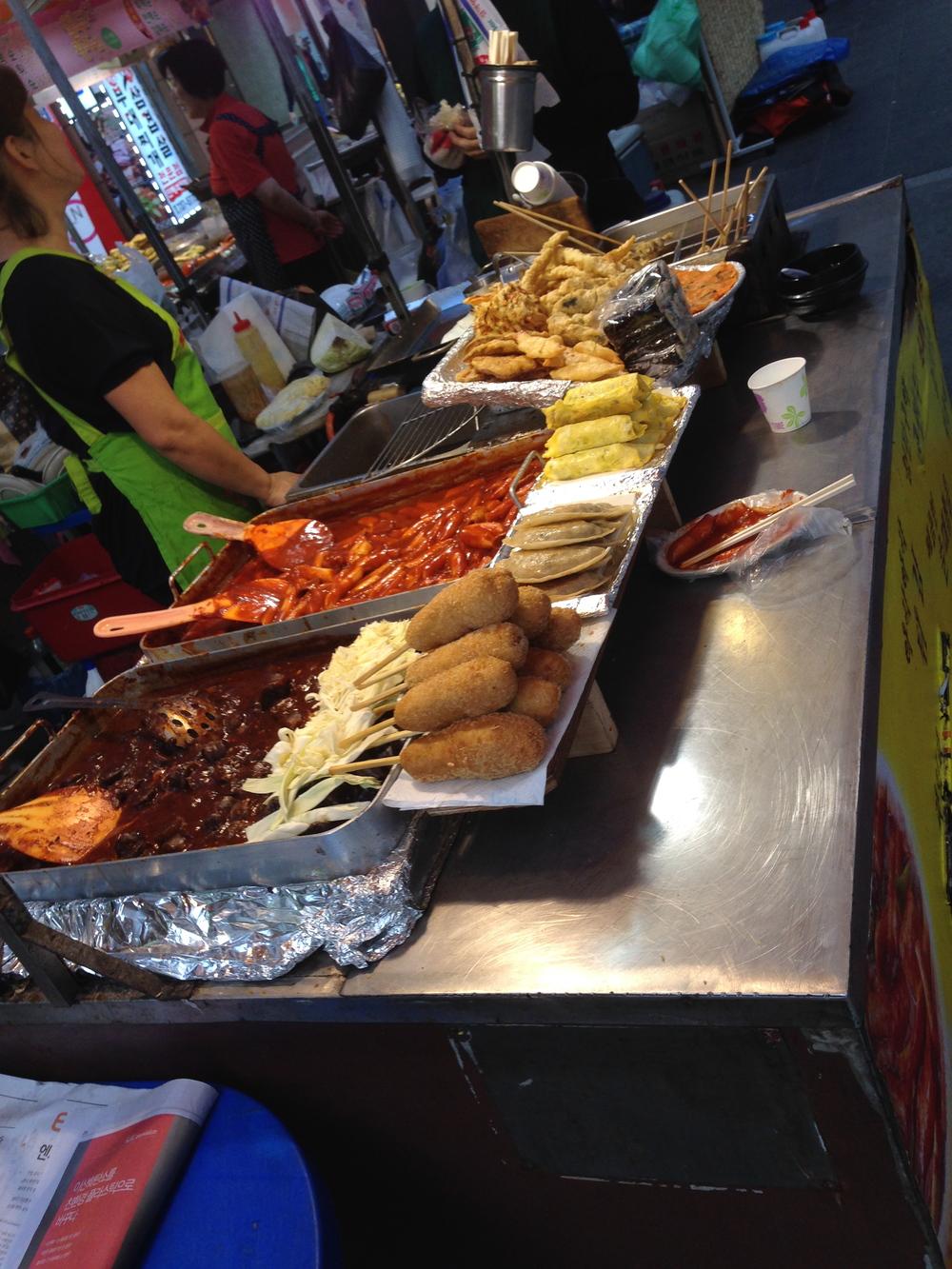 fast food a la Korea