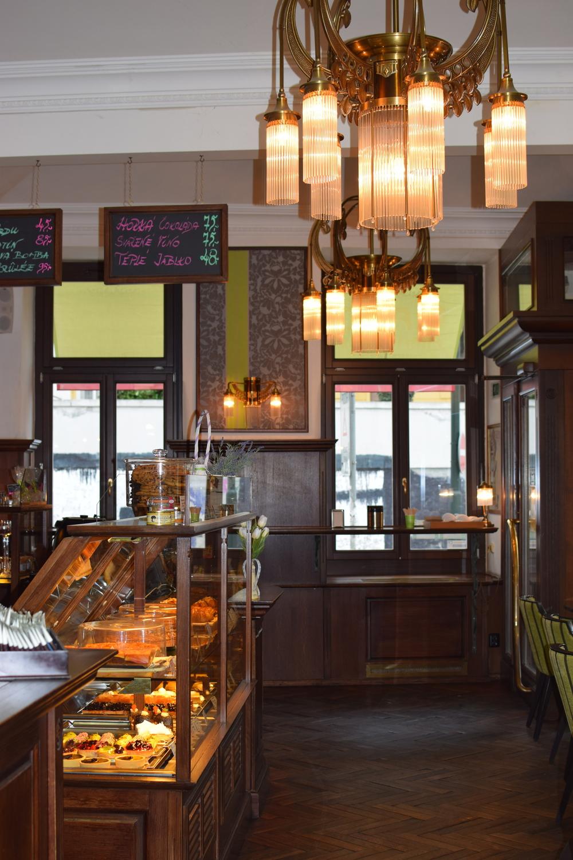 café Amandine, Na Moráni 19, Praha 2