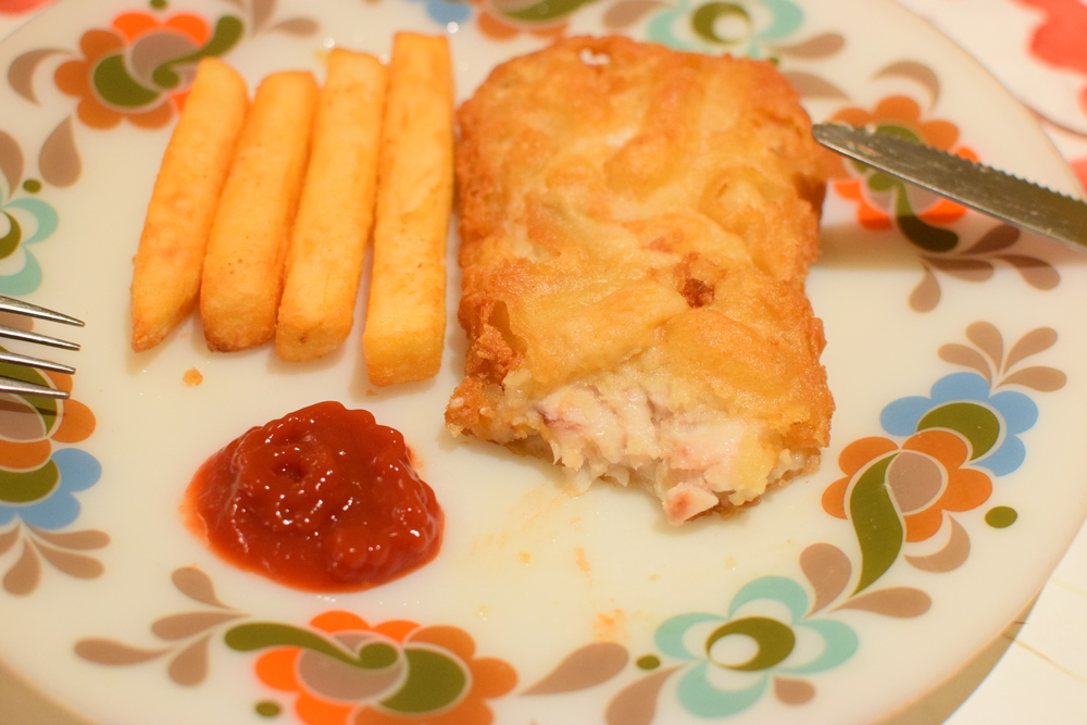 fish & chips, jak jinak :)