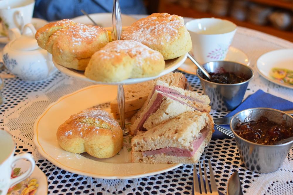 toast není součástí cream tea menu