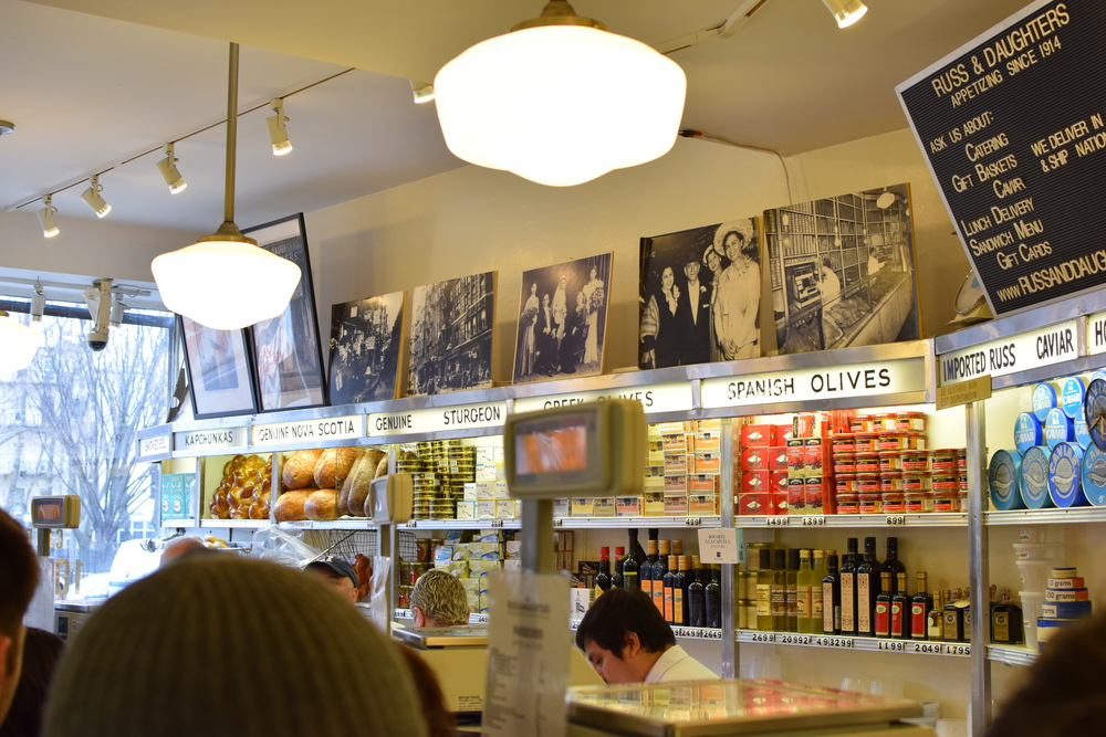 Russ & Daughters shop