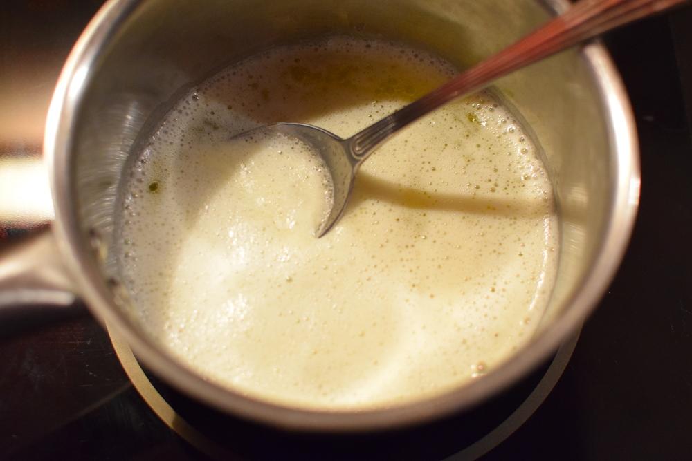 máslová pěna