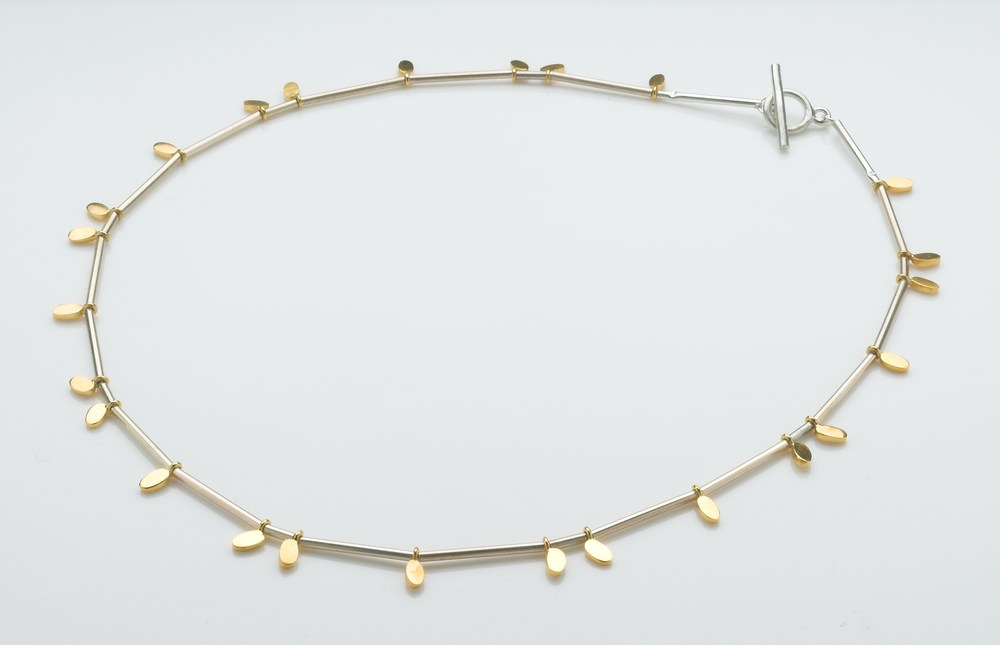 Silver and gold plated necklace. £275 Available to buy online
