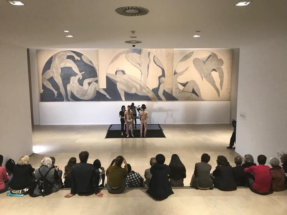 Salle Matisse, Musee d'art modern, Paris.