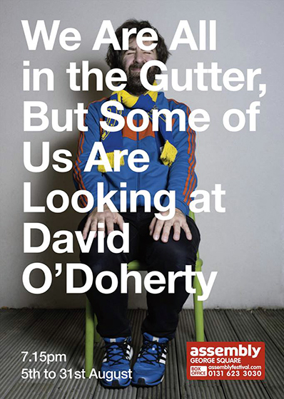 David O'Doherty -  Edinburgh Festival