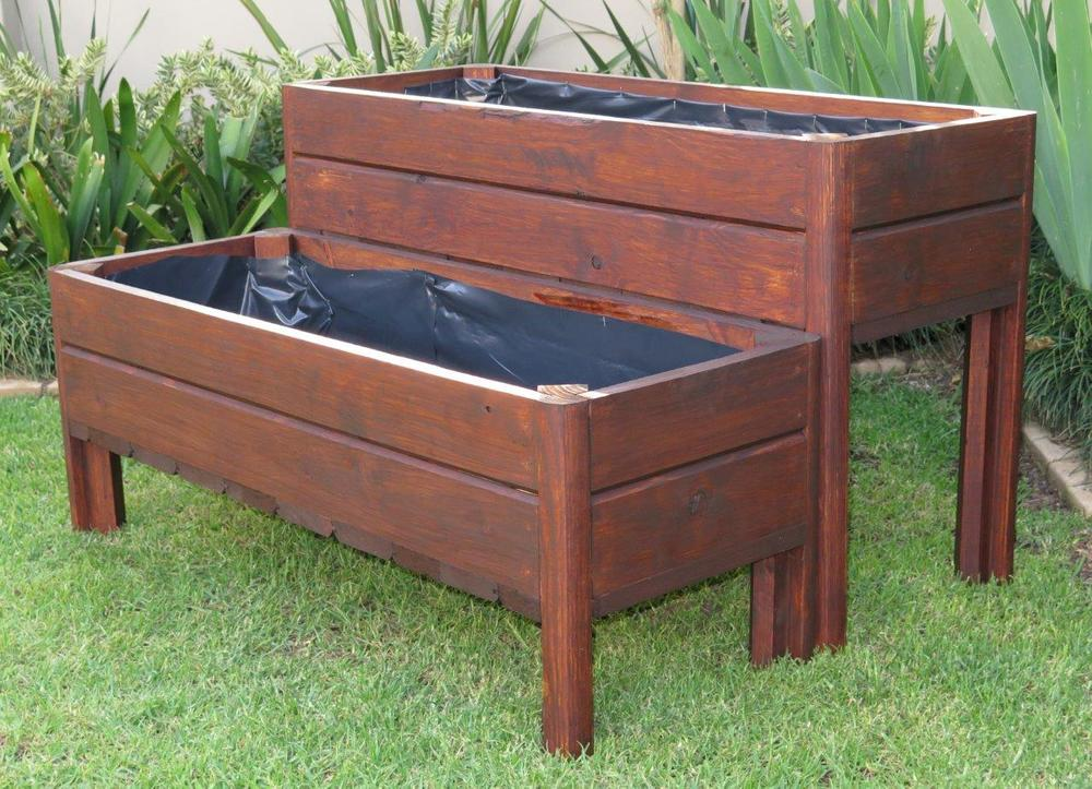 Wooden Planter Boxes Wood Pioneers Wendy House Manufacturers