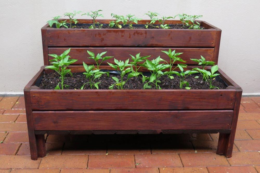 Tiered wooden planter boxes & Wooden Planter Boxes u2014 Wood Pioneers - wendy house manufacturers Aboutintivar.Com