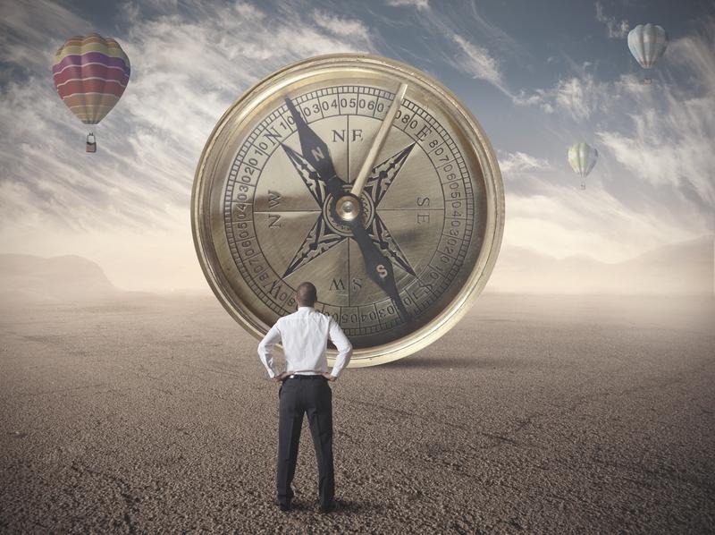 """Unser innerer Kompass beinhaltet 34 Werte die unser sogenanntes """"Bedeutungsfeld"""" darstellen. Dieses ist unsere einzigartige Landkarte die unsere Entscheidungsfindung und Problemlösung steuert."""