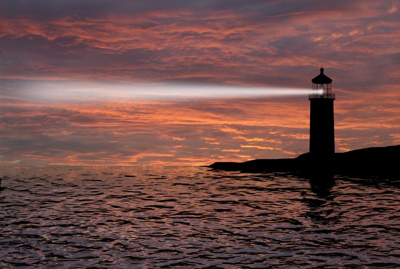 """Ein sinnstiftendes Leben führt Sie zu Ihrem persönlichen """"Leuchtturm"""". Dahin wo sie Ihr Lebens als erfüllend und im Verbundenheit mit dem """"Großen Ganzen"""" erleben."""