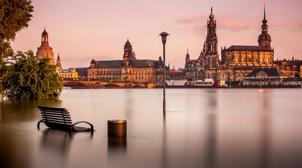 Dresden Flooded
