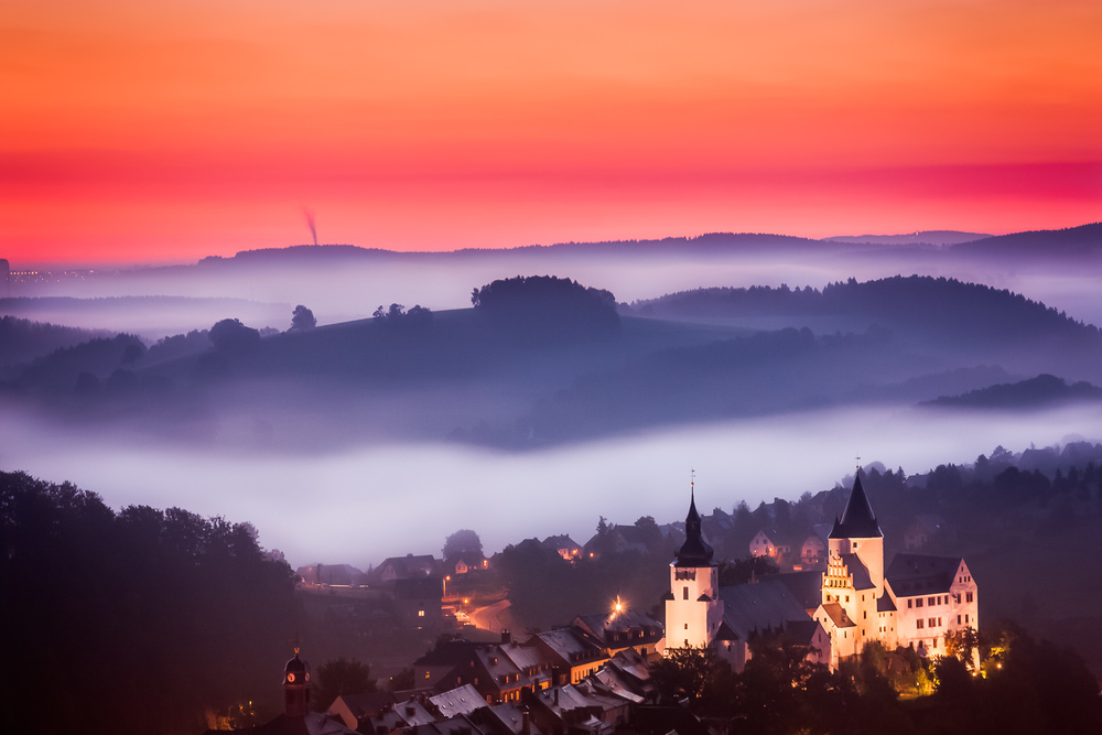 Schwarzenberg During Foggy Sunrise