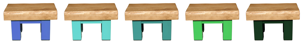 Oak & Iron Furniture Rustic Coffee Tables