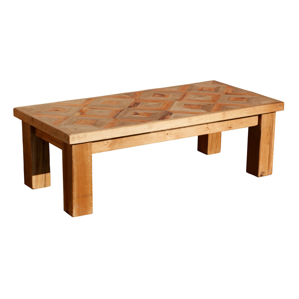 Oak U0026 Yew Wood Coffee Table