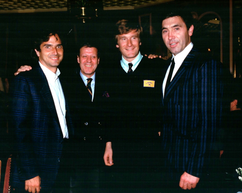 Nelson Piquet Thierry Boutsen Eddy Merckx