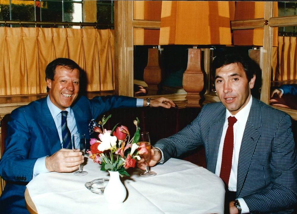 Leo & Eddy Merckx
