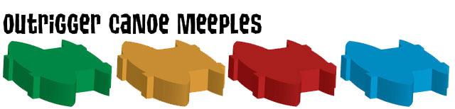 Canoe meeples