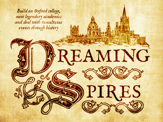 Dreaming spires cover